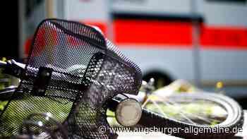 Radfahrer muss nach Unfall in Senden ins Krankenhaus - Augsburger Allgemeine