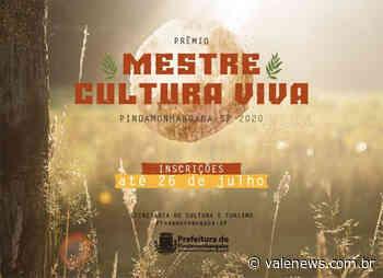 Inscrições abertas para o Prêmio Mestre Cultura Viva de Pindamonhangaba - Vale News
