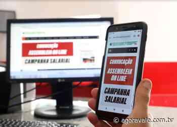 Sindicato dos Metalúrgicos de Pindamonhangaba convoca assembleia da Campanha Salarial - AgoraVale
