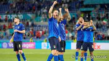 Italy emerging as serious Euro 2020 contenders
