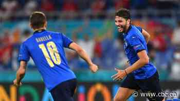 Manuel Locatelli strikes twice as Italy cruise into round of 16 with win over Switzerland