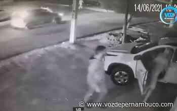 Tentativa de assalto é registrada com ex-vereador de Carpina - Voz de Pernambuco