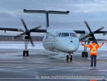 Return of Air Canada service to North Bay is 'positive news' to airport manager - Northern Ontario Business