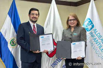 La Universidad Dr. Andrés Bello y Aldeas Infantiles SOS firman alianza a favor de la niñez, juventud y familias de El Salvador. - InformaTVX - Noticias El Salvador