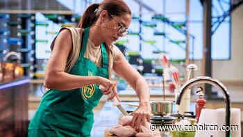 MasterChef Celebrity: El bello gesto que Viña Machado tiene con Lorna Cepeda en pleno reto de eliminación - Canal RCN