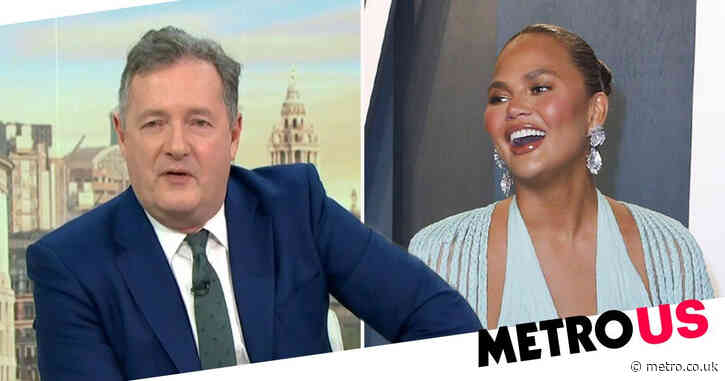Piers Morgan labels Prince Harry and Meghan Markle 'woke Pinocchios' as he savages Chrissy Teigen 'Oprah interview' claims