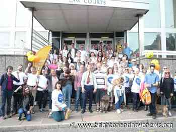 Brighton 'legal walk' to raise funds to support free legal advice for those in most need - Brighton and Hove News