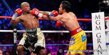 Is Manny Pacquiao too old to fight? Chino Trinidad, Eduard Folayang weigh in on Mayweather's gibe - GMA News