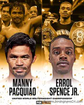 Manny Pacquiao begins training for Errol Spence fight - Boxing News 24