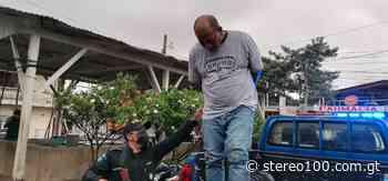 Hombre capturado en Coatepeque extorsionaba con pistola de juguete - stereo100.com.gt