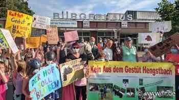 Protest gegen Abriss eines Ponyhofs in Dreieich - fr.de