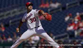 Paolo Espino delivers best outing of career in Nationals' win over Pirates
