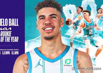 LaMelo Ball Named 2020-21 Kia NBA Rookie of the Year