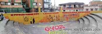 Trabajador de empresa de aseo de Santa Rosa de Osos borró mural de colectivos sociales - Alerta Paisa