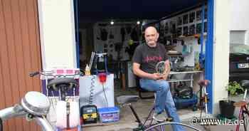 Wie aus alten Fahrrädern in Lemgo Möbel werden - Lippische Landes-Zeitung