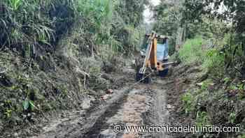 Por lluvias, en Salento se presentaron derrumbes en vías terciarias - La Cronica del Quindio