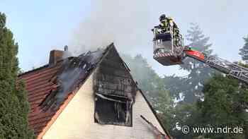 Hausbrand in Gifhorn: 37-jähriger Mann schwer verletzt - NDR.de