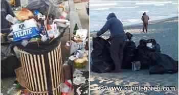 Ante semáforo verde aumentan visitantes y basura en playas de Ensenada - SanDiegoRed