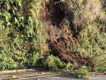 Preocupación en Vecinos de Ensenada por deslizamientos de tierra en La Cantera - El Heraldo Austral