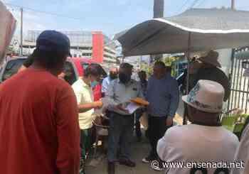Se reunieron autoridades con pescadores en plantón - Ensenada.net