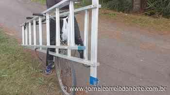 Homem é flagrado com escada furtada - Segurança - Correio do Norte - Jornal Correio do Norte
