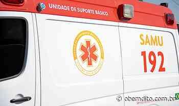Homem fica ferido ao cair de escada de três metros em Umuarama - OBemdito