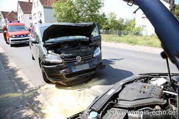Frontalcrash: Unfall in Sulzbach - Zwei Menschen verletzt - Main-Echo