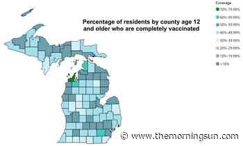 Michigan coronavirus cases and deaths continue to fall - The Morning Sun