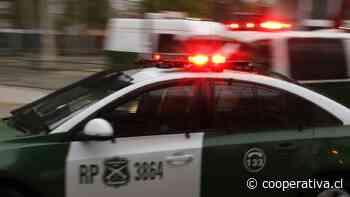 Lo Prado: Carabineros detuvo a cuatro personas vinculadas a robo de camión de multitienda - Cooperativa.cl