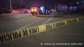 Balean a hombre en Villas del Prado - El Mexicano - Gran Diario Regional - El Mexicano Gran Diario Regional