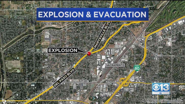 Sacramento Police Investigate Explosion, Homemade Fireworks In North Sacramento