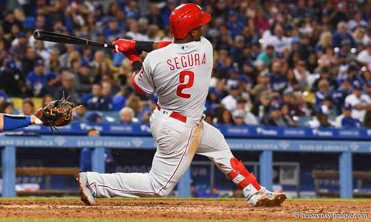 Phillies place Jean Segura on 10-day injured list, recall Nick Maton