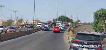 Cerrado un carril del puente Francisco Villa en el Palmito | Ciudad | Noticias | TVP - TV Pacífico (TVP)