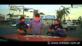 Don Torcuato: Robó arriba de un colectivo y fue detenido por el COT - InfoBan