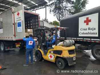 La Cruz Roja colombiana dona ayuda alimentaria a población vulnerable en Puerto Asís - http://www.radionacional.co/