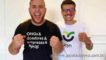 Joyn: estudantes curitibanos criam plataforma para ajudar ONGs - Gazeta do Povo