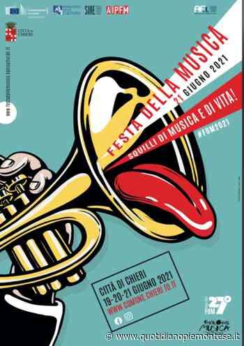 """19-20-21 giugno a Chieri la """"Festa della Musica 2021"""" - Il programma - - Quotidiano Piemontese"""