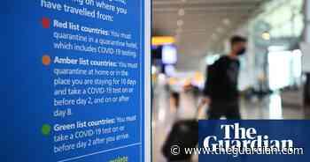 Double-jabbed UK tourists could skip amber-list quarantine under proposals - The Guardian