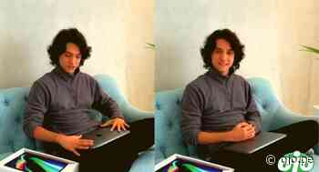 Vasco Madueño recibe emocionado la computadora que le prometió Magaly Medina para continuar con sus estudios - Diario Ojo