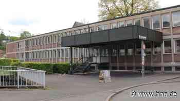 Abriss am Landratsamt: Zulassungsstelle in Frankenberg zieht um - HNA.de