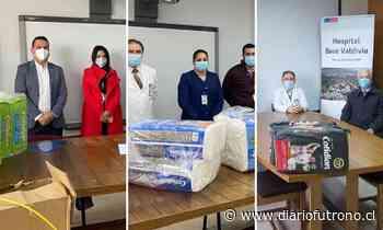 Privados donaron insumos para pacientes del Hospital Base Valdivia - Diario Futrono