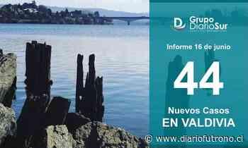 Valdivia reportó 44 contagios y logró bajar barrera de 400 activos - Diario Futrono