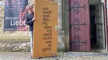 Nach Glaube nun Liebe: Bissendorf: In Schledehausen wird ein Kunstprojekt fortgesetzt - noz.de - Neue Osnabrücker Zeitung