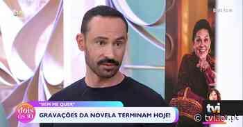 Luís Gaspar: «A Rita fez esta personagem na perfeição!» - TVI