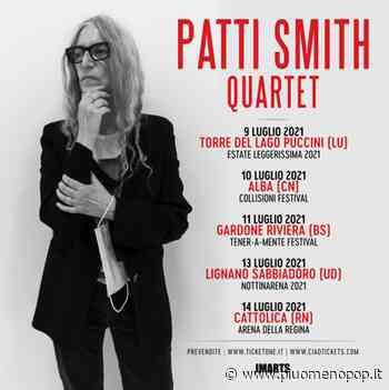 PATTI SMITH in tour in Italia | - Più o Meno POP