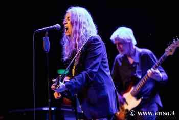 Musica: parte da Torre del Lago tour italiano di Patti Smith - Agenzia ANSA