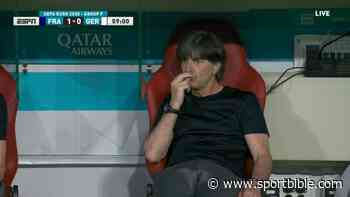 Football Fans Get Deja Vu As Germany Manager Joachim Low Is Caught 'Sniffing' His Fingers Once Again - SPORTbible