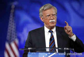 Justice Department Drops Donald Trump-Era Lawsuit Against John Bolton Over Book Publication - Yahoo Entertainment