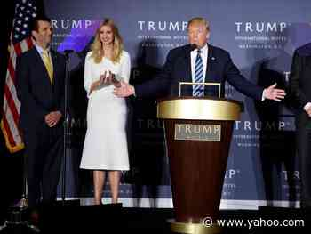 Donald Trump Reportedly Thinks Donald Trump Jr. Would Do Better in Prison Than Ivanka Trump - Yahoo Entertainment