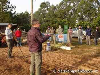San Miguel y Caá Catí, primeros puntos para la puesta en marcha del desarrollo del Proyecto Semilleros para Pasturas - Diario La República